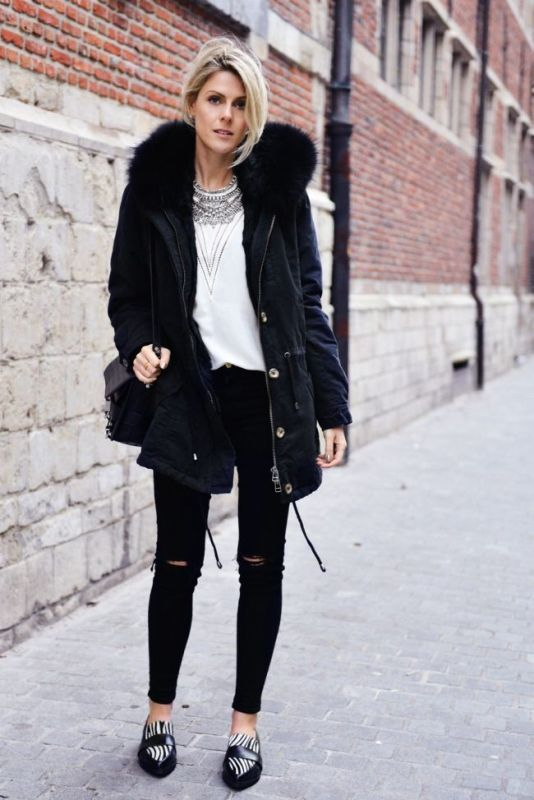 Picture Of creative and stylish ways to wear parka right now  3