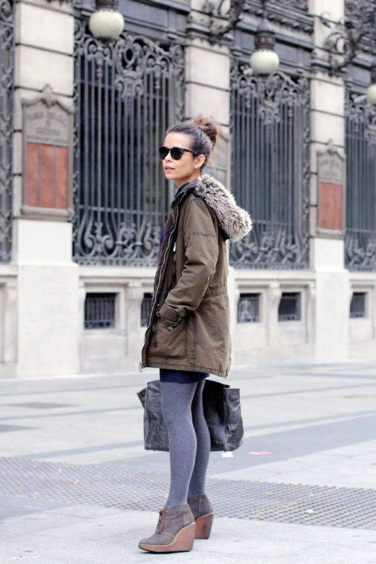 Picture Of creative and stylish ways to wear parka right now  4