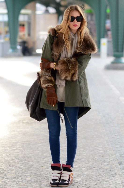 Picture Of creative and stylish ways to wear parka right now  5