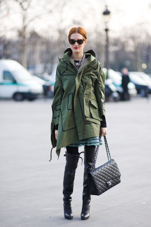Creative And Stylish Ways To Wear A Parka Right Now