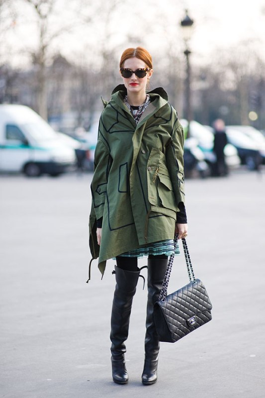 Picture Of creative and stylish ways to wear parka right now  6