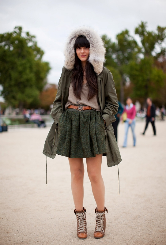 Picture Of creative and stylish ways to wear parka right now  8