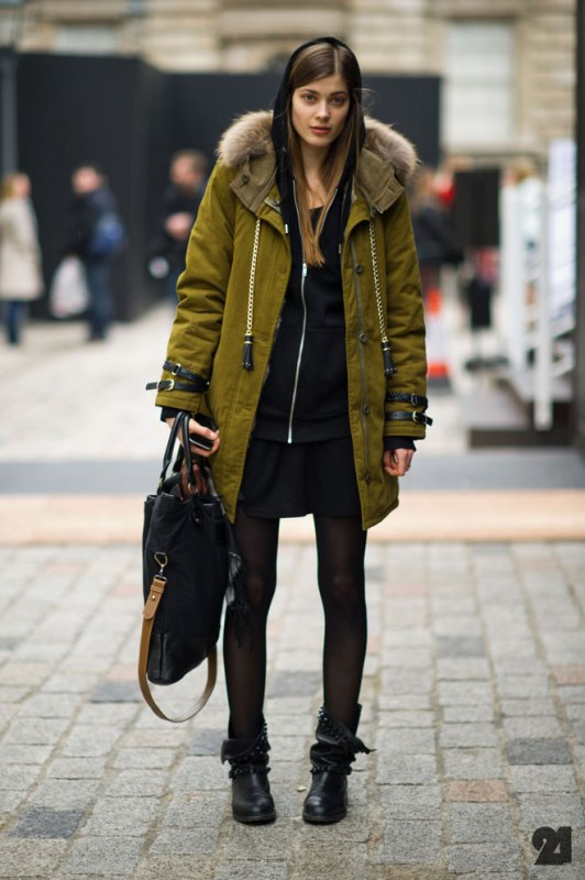 Picture Of creative and stylish ways to wear parka right now  9
