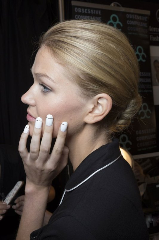 Picture Of trendiest nail art ideas from spring 2015 fashion week  11
