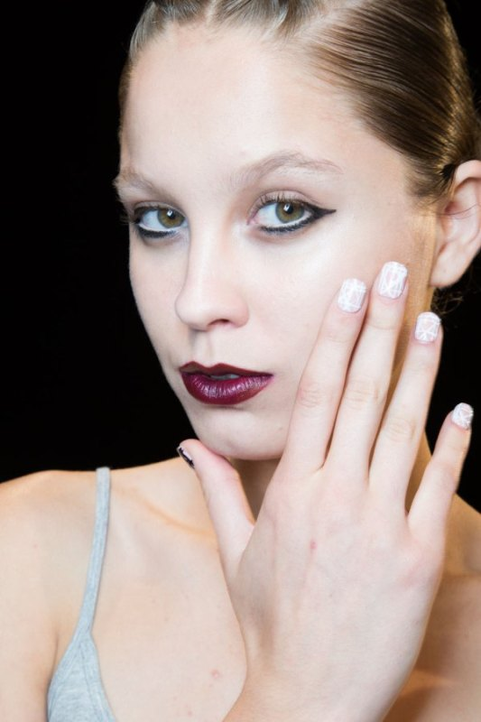 Picture Of trendiest nail art ideas from spring 2015 fashion week  5