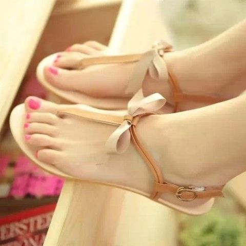 Picture Of Gentle And Feminine Sandals For This Summer 2
