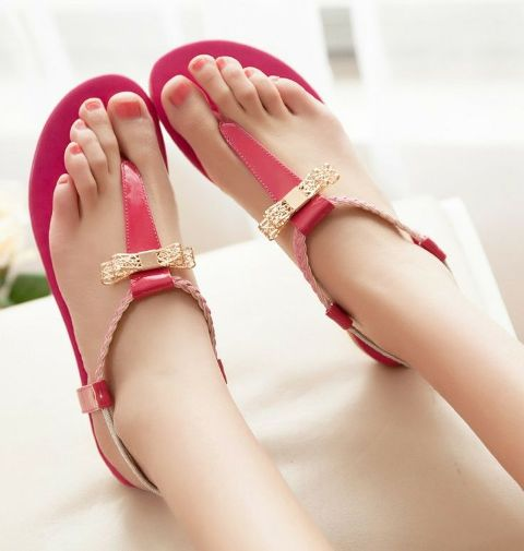 Picture Of Gentle And Feminine Sandals For This Summer 4