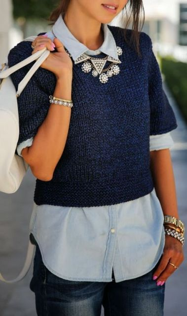 Stylish Ideas To Wear Layered Clothes