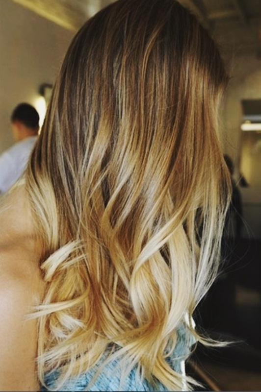 Picture Of sexy summer hair highlights  1