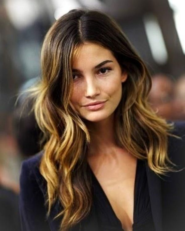 Picture Of sexy summer hair highlights  9