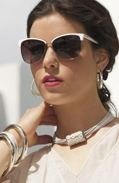 Picture Of Beautiful Semi Rimless Sunglasses For This Season 13