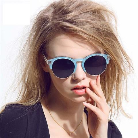Picture Of Beautiful Semi Rimless Sunglasses For This Season 7