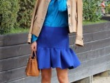 15 Chic Office Looks In Blue Shades11
