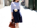 15 Chic Office Looks In Blue Shades12