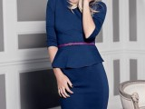 15 Chic Office Looks In Blue Shades4