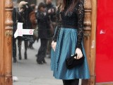 15 Chic Office Looks In Blue Shades7