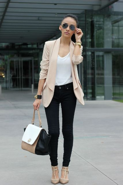 Comfortable Fall Outfits With Trendy Long Line Blazers