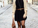 15 Cool Dress And Boots Combinations For Fall10