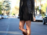 15 Cool Dress And Boots Combinations For Fall8