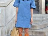 15 Denim Dresses For Girls This Spring13