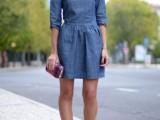 15 Denim Dresses For Girls This Spring15