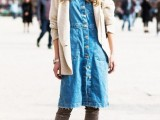15 Denim Dresses For Girls This Spring5