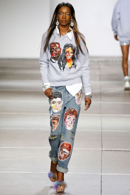 Picture Of Extraordinary Ways To Wear Denim This Season 10