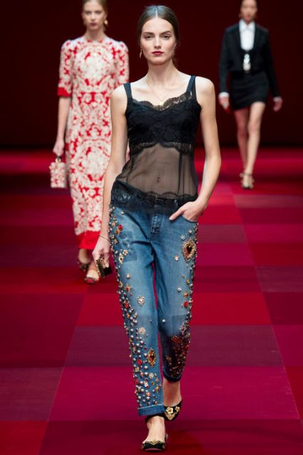 Picture Of Extraordinary Ways To Wear Denim This Season 11