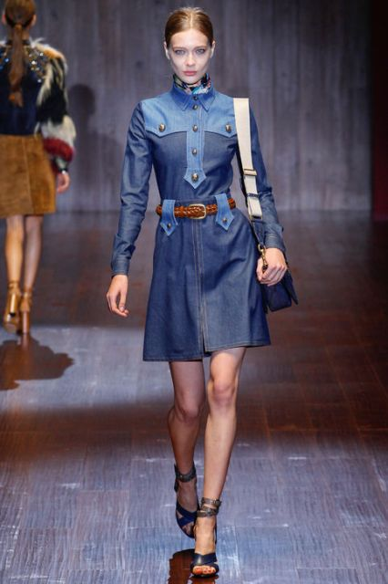 Picture Of Extraordinary Ways To Wear Denim This Season 12
