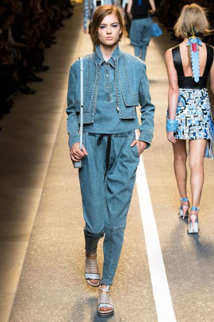 Picture Of Extraordinary Ways To Wear Denim This Season 8