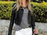 15 Fashionable Casual Fall Outfits With Cropped Jackets2