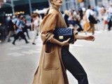 15 Fashionable Outfits With Long Coat For Fall