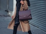 15 Fashionable Outfits With Long Coat For Fall11