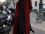 15 Fashionable Outfits With Long Coat For Fall13