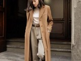 15 Fashionable Outfits With Long Coat For Fall14