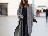 15 Fashionable Outfits With Long Coat For Fall15