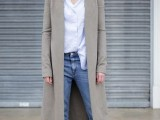 15 Fashionable Outfits With Long Coat For Fall2