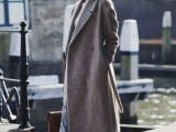15 Fashionable Outfits With Long Coat For Fall4