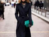 15 Fashionable Outfits With Long Coat For Fall6