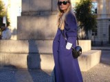 15 Fashionable Outfits With Long Coat For Fall9