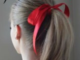 15 Incredibly Easy Hairstyle With Ribbon For Every Day 9