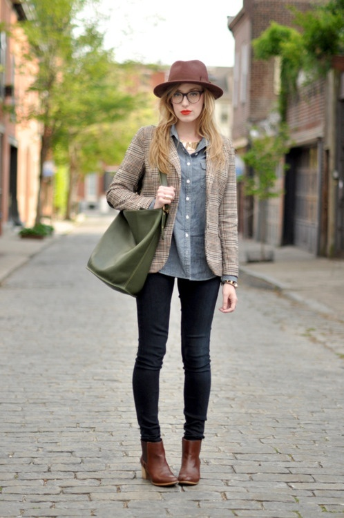 Inspiring Ways To Wear Ankle Boots
