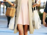 15 Perfect Fall Outfits With Nude Trench Coat