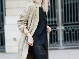 15 Perfect Fall Outfits With Nude Trench Coat14