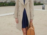 15 Perfect Fall Outfits With Nude Trench Coat15