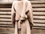 15 Perfect Fall Outfits With Nude Trench Coat3