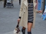 15 Perfect Fall Outfits With Nude Trench Coat4