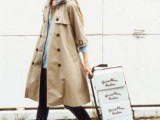 15 Perfect Fall Outfits With Nude Trench Coat9