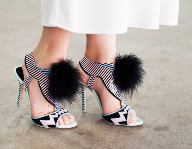 Picture Of Pom Pom Heels For Every Fashionable Girl  11