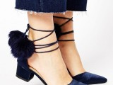15 Pom Pom Heels For Every Fashionable Girl  6